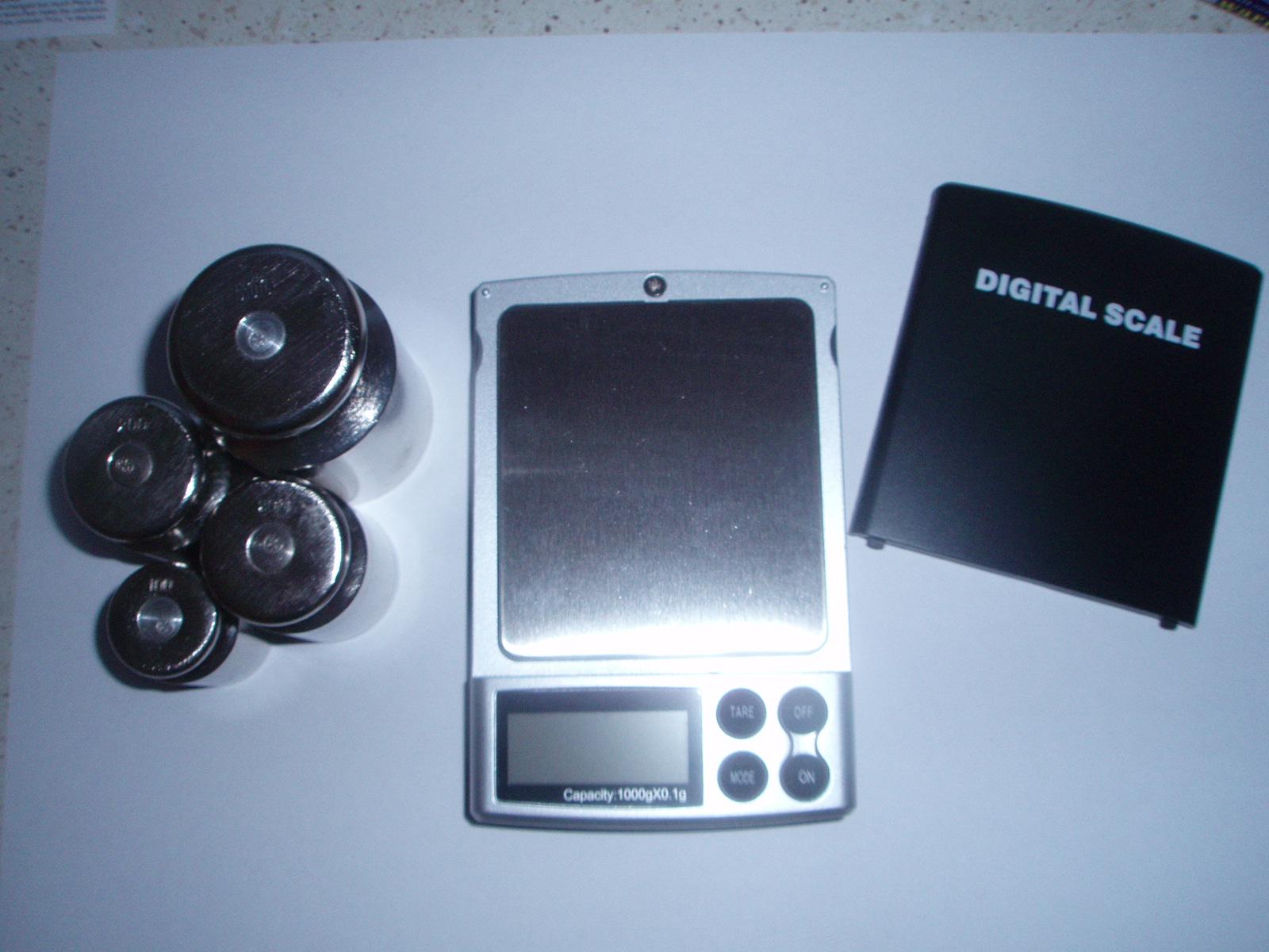 Настройка весов M1000,(фото 1)