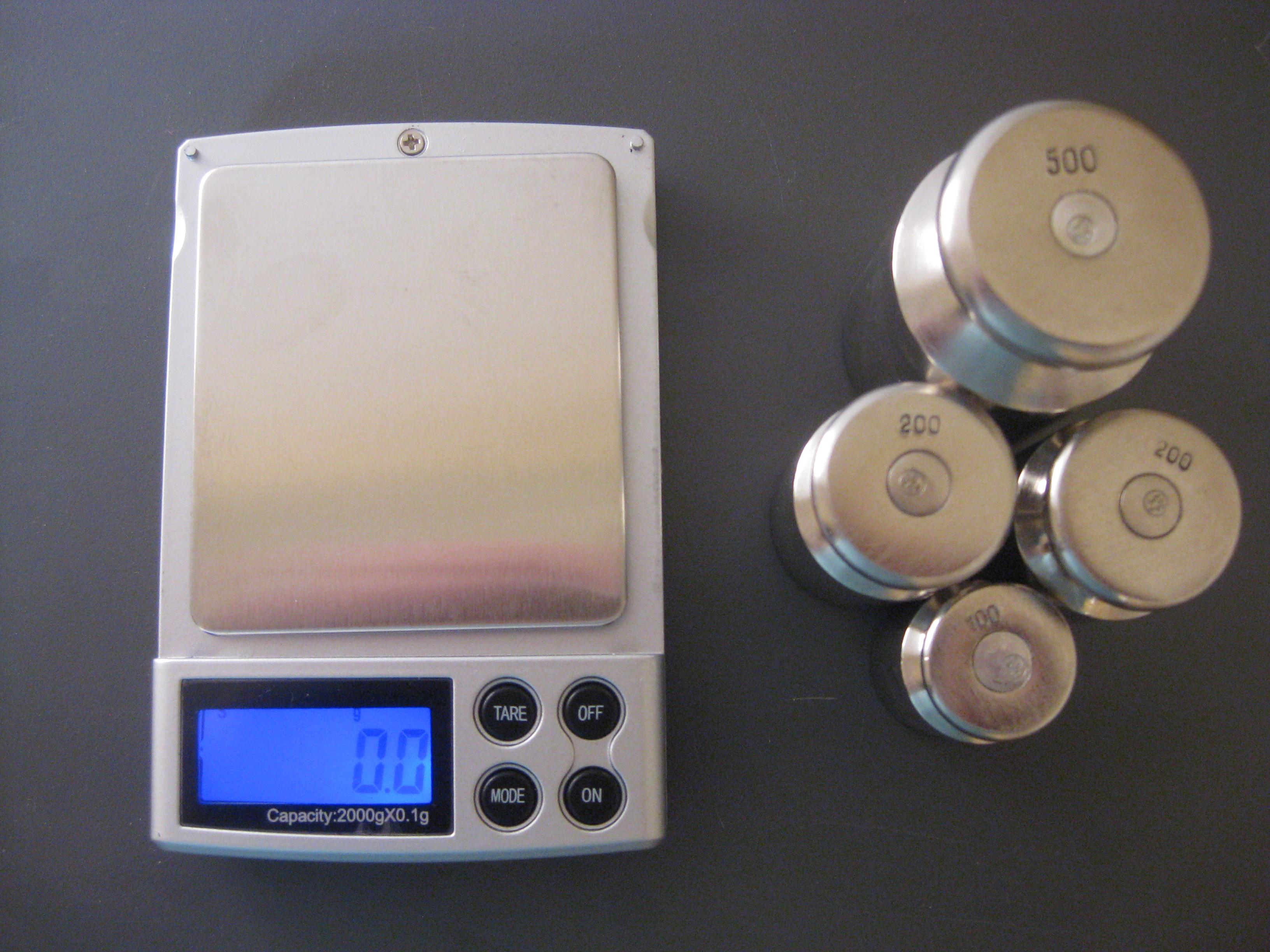 Настройка весов M2000,(фото 2)