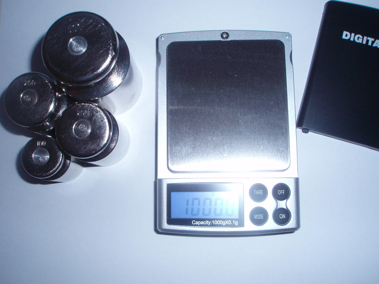 Настройка весов M1000,(фото 4)