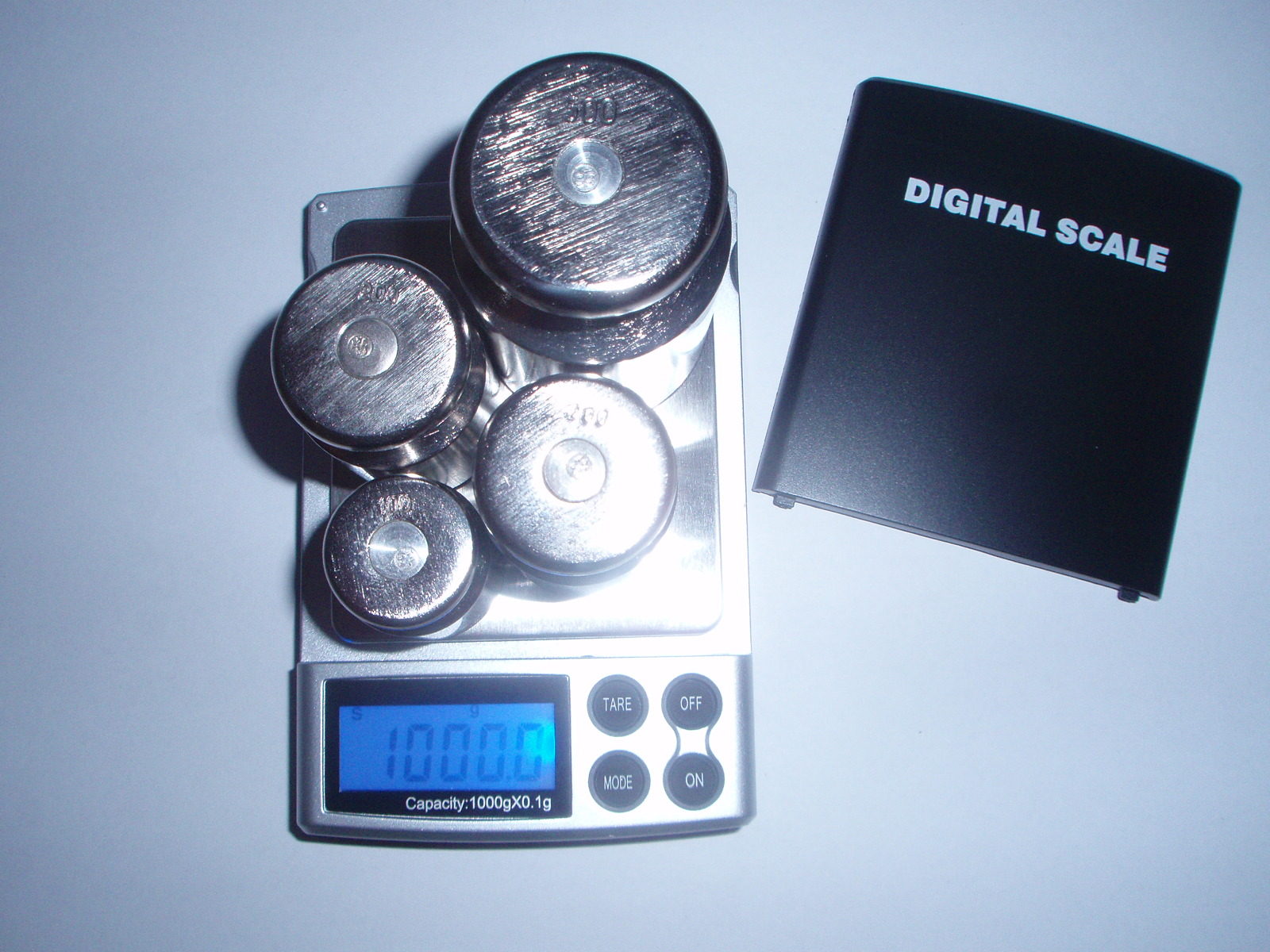 Настройка весов M1000,(фото 5)