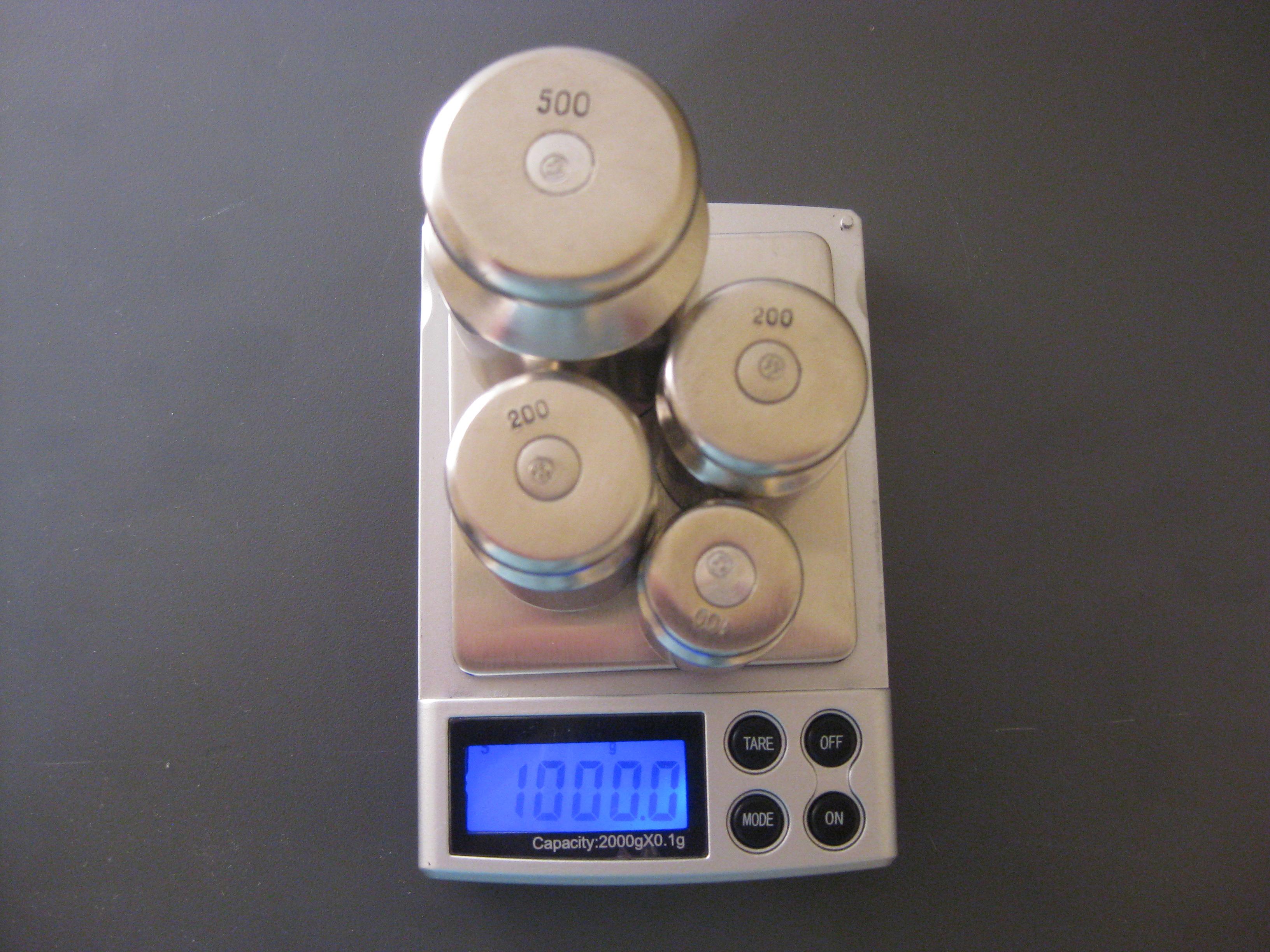 Настройка весов M2000,(фото 6)